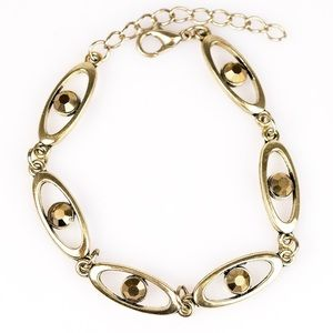 "Jewelry - ✨ ""Starry eyed"" brass bracelet"